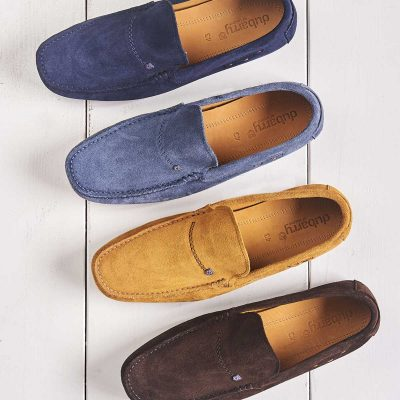 Dubarry Suede Loafer - Mens Tobago