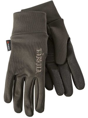 HARKILA Gloves - Power Liner Polartech - Soil Brown