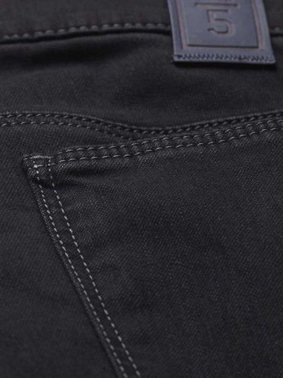 Meyer M5 Jeans - 6206 Stretch Denim - Slim Fit - Black