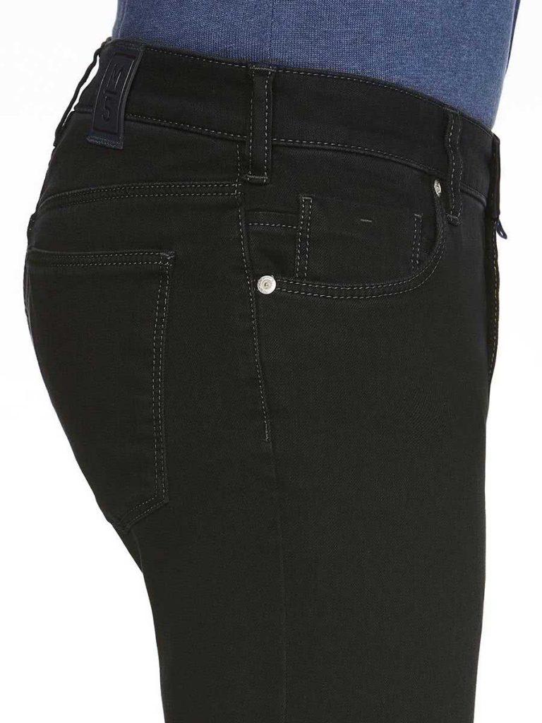 Meyer M5 Jeans - 6206 Stretch Denim - Slim Fit - Black