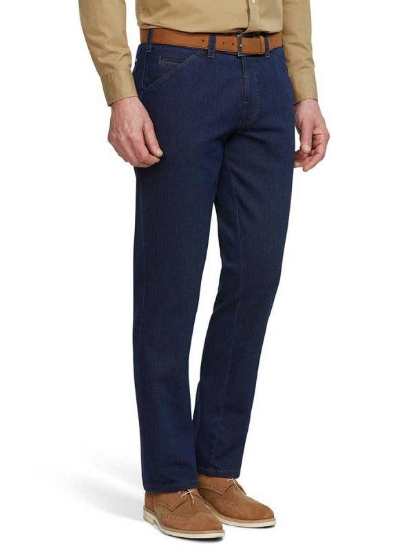 Meyer Jeans Two Tone Denim - Chicago 4511 - Blue
