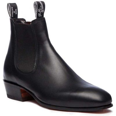 RM WILLIAMS Boots - Ladies Kimberley - Black