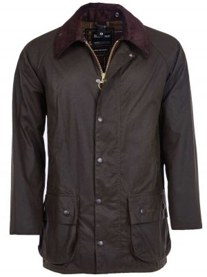 Barbour Men's Classic Beaufort Wax Jacket - Olive