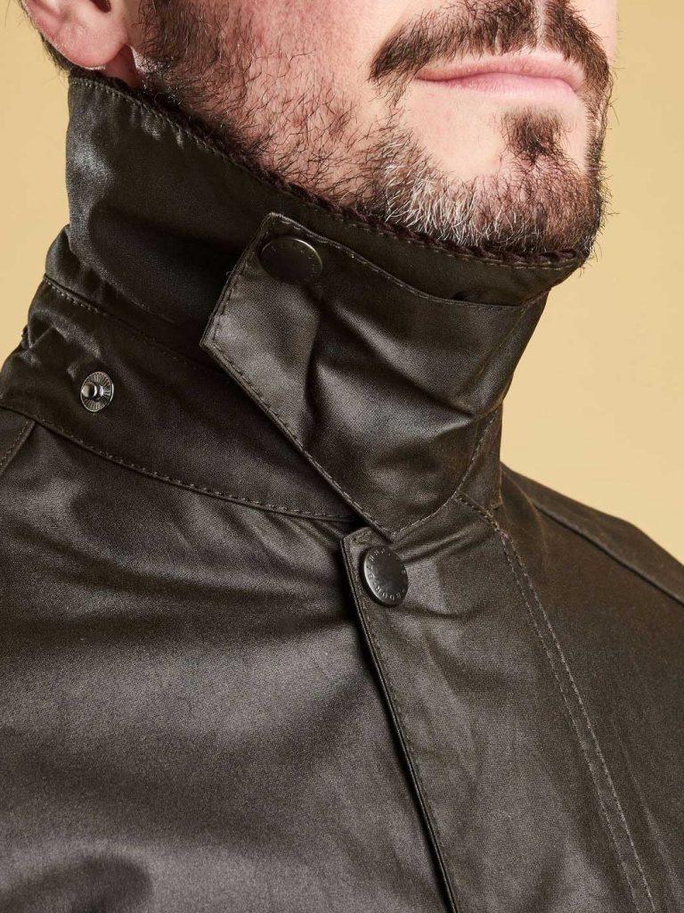 Barbour Men's Classic Beaufort Wax Jacket - Olive