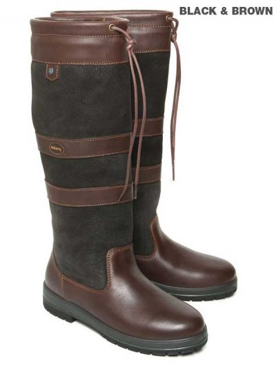 Dubarry Galway Boots - Black & Brown
