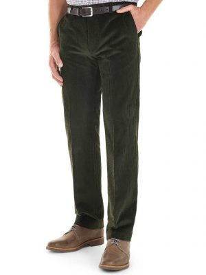 GURTEEN Cords - Verona Stretch Cotton - Olive