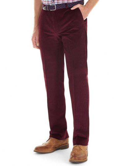 GURTEEN Cords - Verona Stretch Cotton - Wine