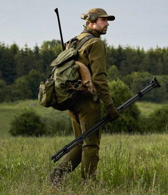 Härkila Agnar Hybrid Mens Trousers - Willow Green