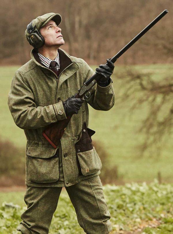 Härkila Stornoway Mens Jacket - Cottage Green Tweed