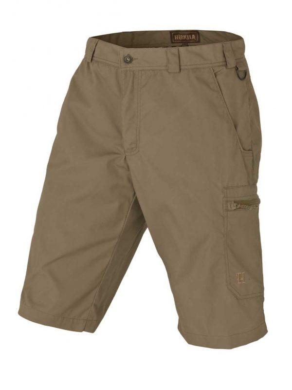 HARKILA Shorts - Mens Alvis Cotton Canvas - Light Khaki