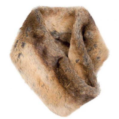 DUBARRY Greystones Faux Fur Snood - Chinchilla
