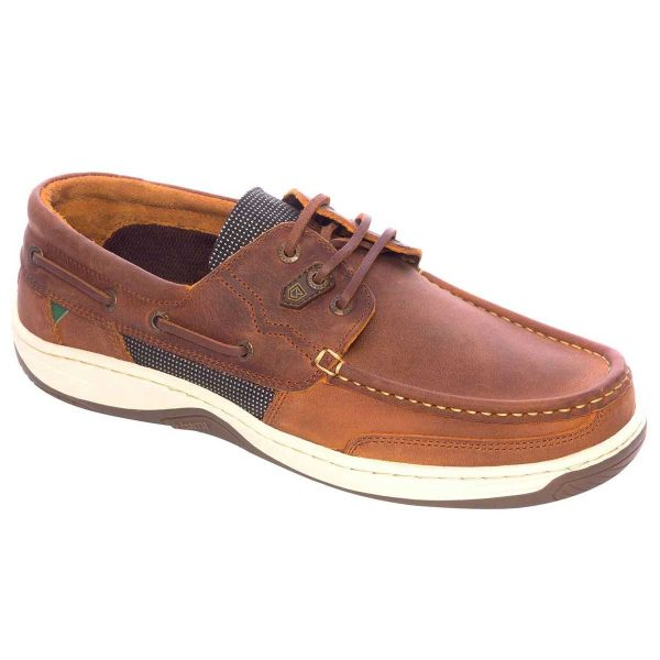 DUBARRY Deck Shoes - Men's Regatta - Whiskey