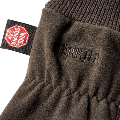 HARKILA Gloves - Pro Shooter GORE Windstopper - Shadow Brown