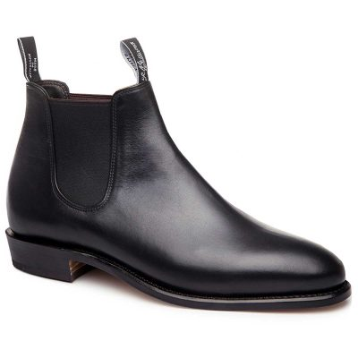 RM WILLIAMS Boots - Ladies Kangaroo Adelaide - Black