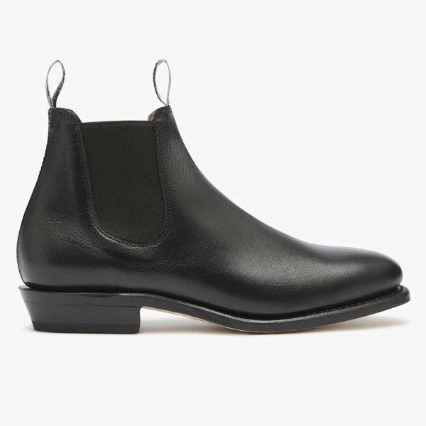 RM WILLIAMS Boots - Ladies Kangaroo Adelaide - Black