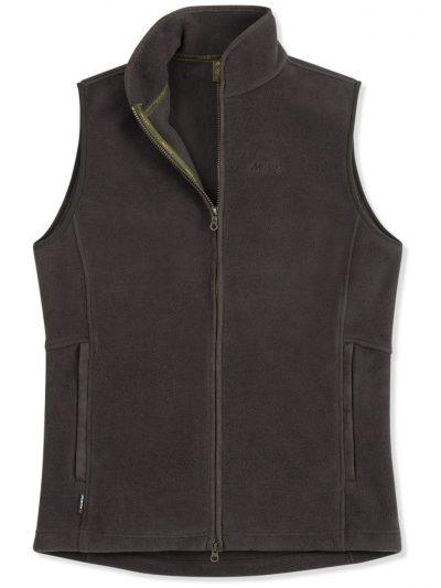 MUSTO Gilet - Mens Glemsford Polartec® Fleece - Liquorice