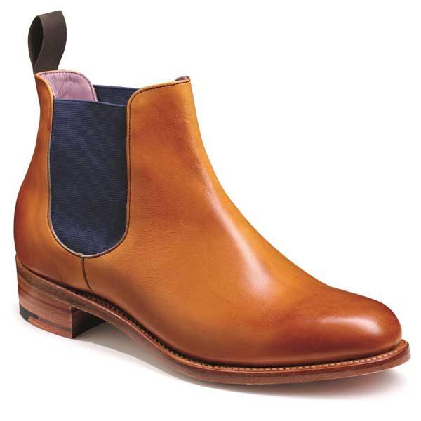 Barker Ladies Violet Chelsea Boots - Cedar Calf