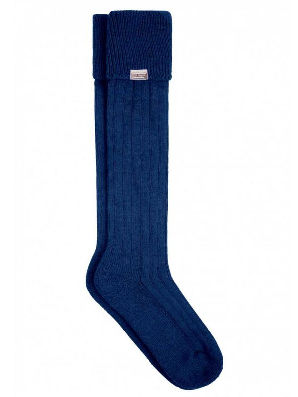 DUBARRY Alpaca Wool Socks - Navy