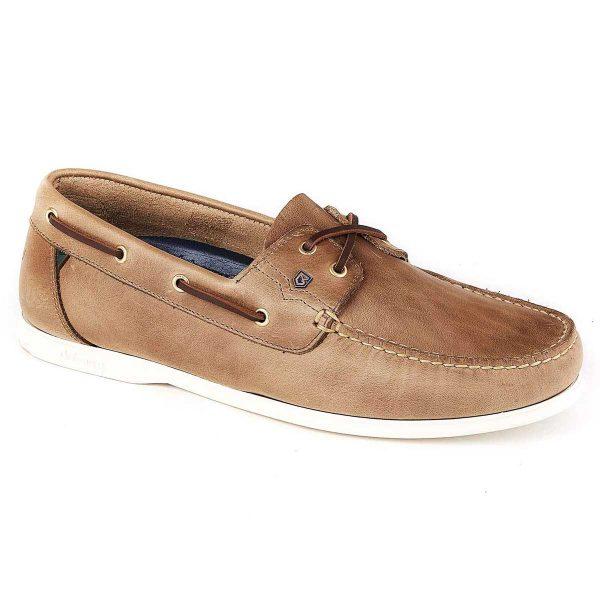 DUBARRY Deck Shoes - Men's Port - Taupe Nubuck