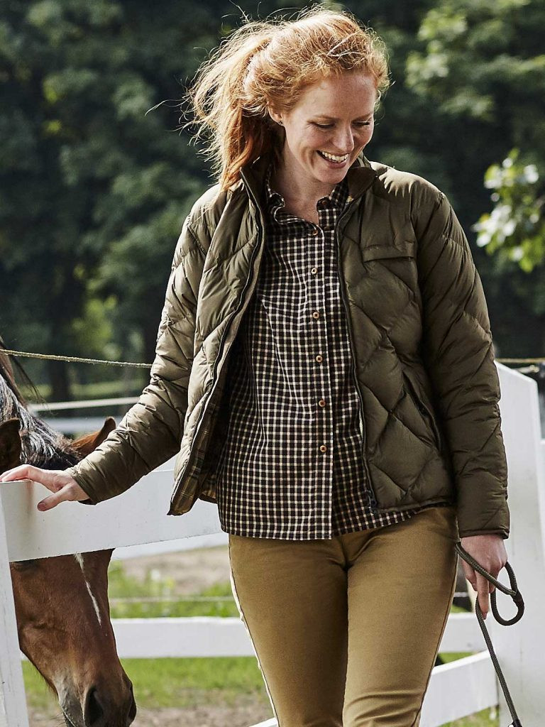 HARKILA Jacket - Ladies Berghem - Olive Green