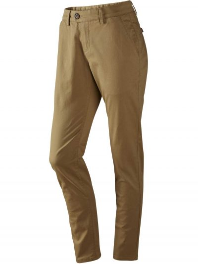 HARKILA Chinos - Ladies Norberg Cotton Trousers - Antique Sand