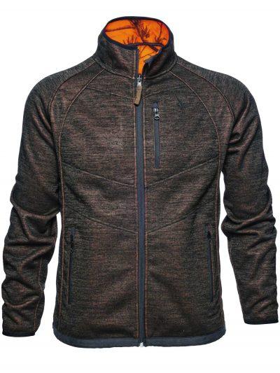 SEELAND Jacket - Mens Kraft Reversible Fleece - Realtree® APB / Soil brown