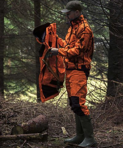 SEELAND Jacket - Mens Kraft Reversible Fleece - Realtree® APB & Soil brown