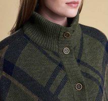 Barbour - Ladies Croft Knit Cape