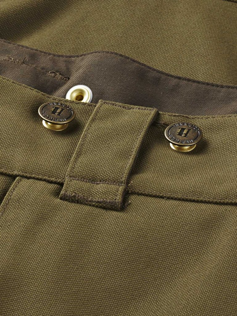 HARKILA Trousers - Mens Pro Hunter X Leather GORE-TEX - Lake Green