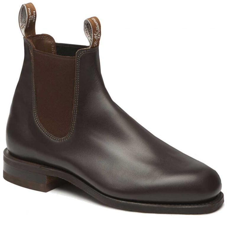 RM WILLIAMS Boots - Men's Comfort Turnout - Chestnut