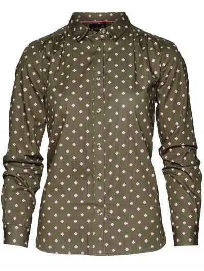 SEELAND Shirts - Ladies Erin - Green Tile