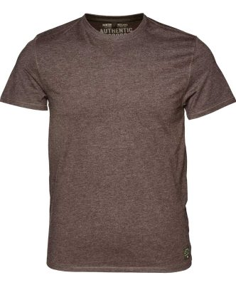 Seeland Men's Basic 2 Pack T-Shirt Moose Brown