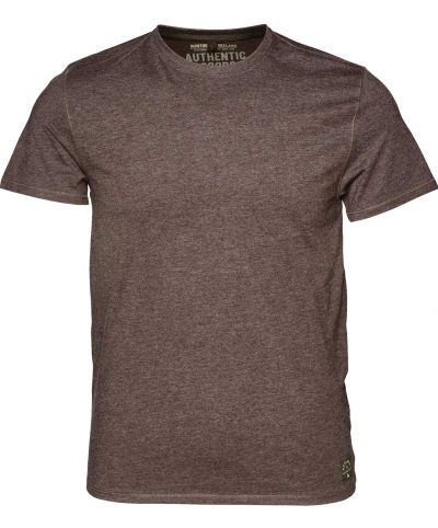 Seeland Men's Basic 2 Pack T-Shirt Moose Brown