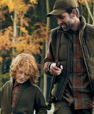seeland-mSeeland Men's Nolan Checked Shirt - Pine Checkens-nolan-checked-shirts