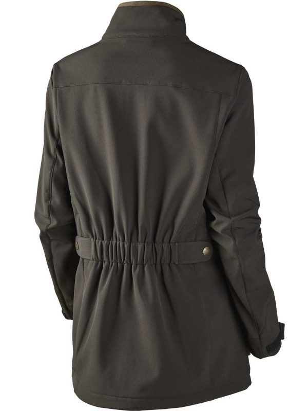 SEELAND Jacket - Ladies Winster Softshell - Black Coffee