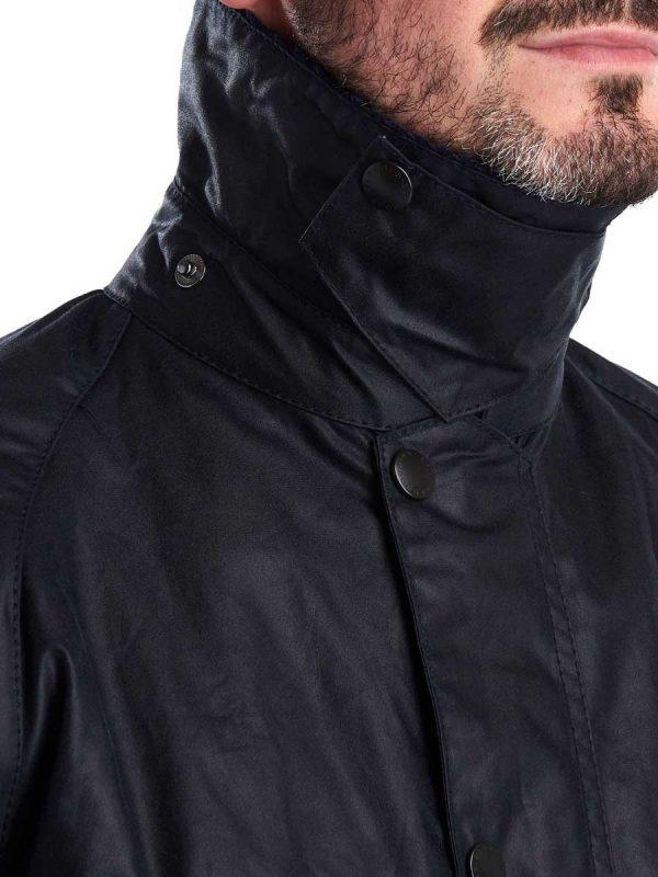 BARBOUR Wax Jacket – Mens Bedale - Navy