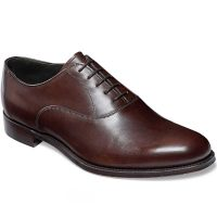 Cheaney - Welland Leather Sole Oxford Shoes - Mocha Calf