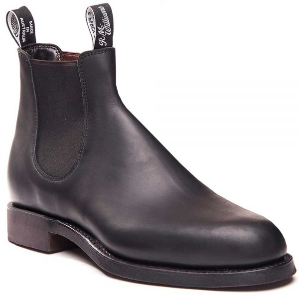 RM WILLIAMS Boots - Men's Gardener - Black