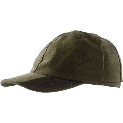 SEELAND Cap - Helt With Reversible Flourescent Crown - Grizzly Brown