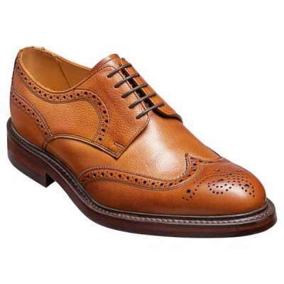 BARKER Kelmarsh Shoes - Derby Brogue - Cedar Grain