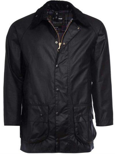 BARBOUR Wax Jacket – Mens Beaufort - Black