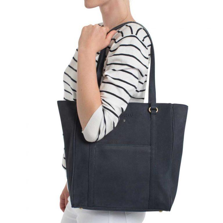 DUBARRY Tote Bag - Ladies Arcadia Leather - Navy