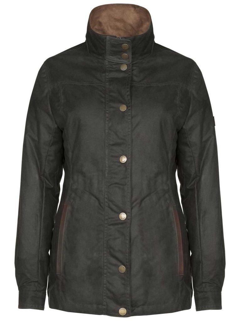 DUBARRY Ladies Mountrath Wax Jacket - Olive