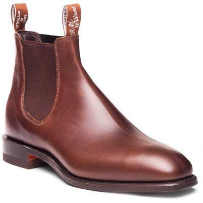 RM WILLIAMS Boots - Men's Comfort Craftsman - Rum