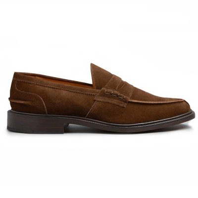 Tricker's James Penny Loafers - Leather Sole