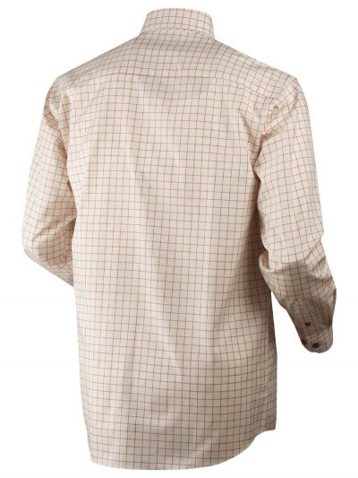 Härkila Mens Stenstorp Shirt - Burnt Orange Check