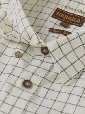 Härkila Mens Stenstorp Shirt - Dark Apple Check