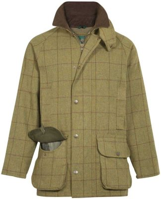 Alan Paine - Mens Rutland Waterproof Shooting Coat - Lichen