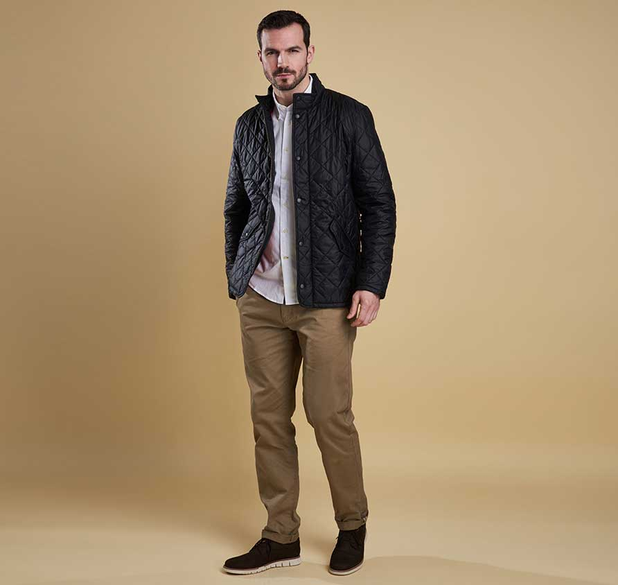Barbour Mens Chelsea Flyweight Quilted Jacket