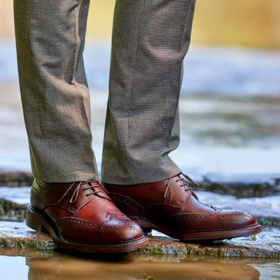Barker Kelmarsh Derby Brogue Shoe
